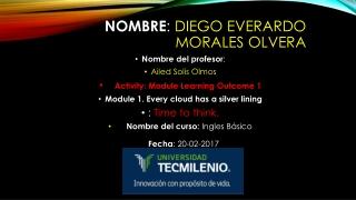 Nombre : Diego Everardo Morales Olvera