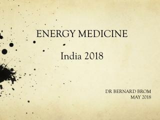 ENERGY MEDICINE India 2018