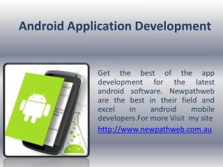 android mobile developers