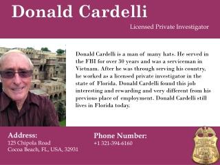 Donald Cardelli