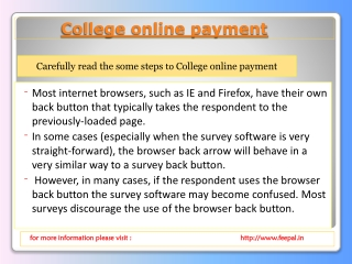 The online payment solution that is free for school colleges