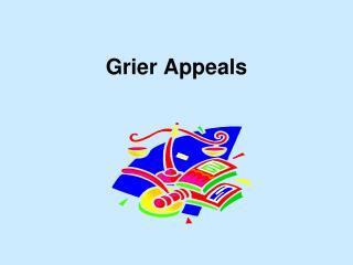 Grier Appeals