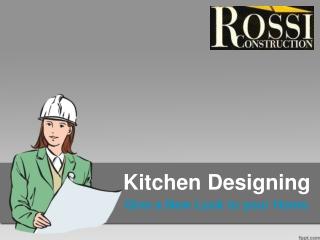 kitchen desiging