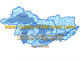 Water Quality of  the  Great Lakes