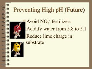 Preventing High pH (Future)