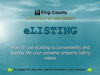 eLISTING