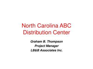 North Carolina ABC Distribution Center