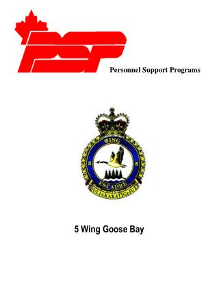 Personnel Support Programs