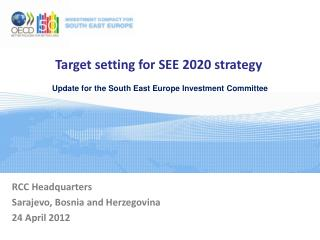 Target setting for SEE 2020 strategy