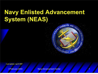 navy enlisted advancement system neas