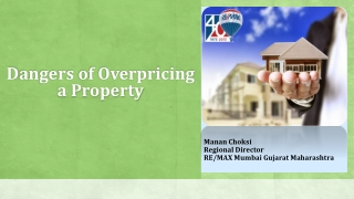 Dangers of Overpricing a Property