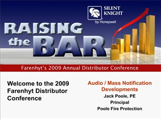 welcome to the 2009 farenhyt distributor conference