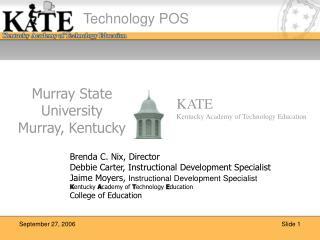 Murray State University Murray, Kentucky