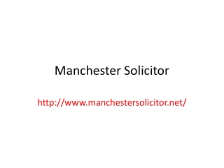 Immigration expert Manchester