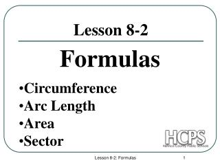 Lesson 8-2