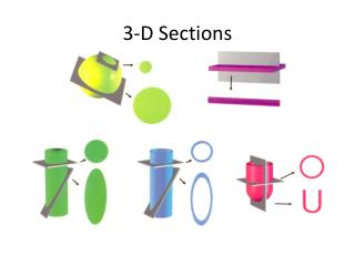 3-D Sections