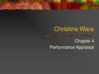 Christina Ware
