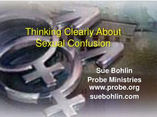 Thinking Clearly About Sexual Confusion