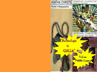 Inviti di Agata Christie