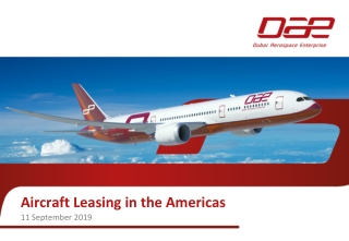 Aircraft Leasing in the Americas