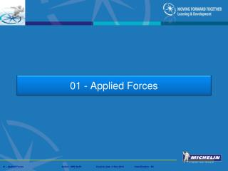 01 - Applied Forces