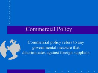 Commercial Policy