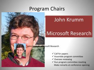 Program Chairs
