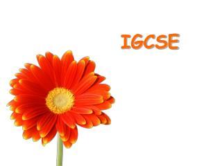 IGCSE