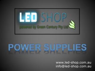 LED-Shop - Power Supplies