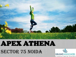Apex Athena Noida 2/3/4 BHK Available at 0% Brokerage Call @