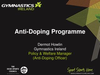 Anti-Doping Programme