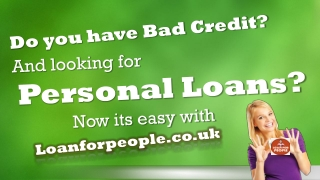Get Personal Loans in UK