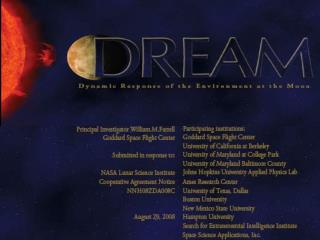 To advance lunar research, NASA Planetary Division formed virtual institutes (like NAI) to pursue dedicated theme-based