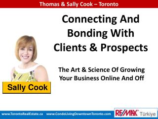 Connecting And Bonding With Clients & Prospects