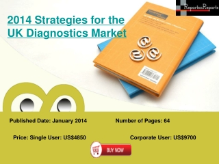 UK Diagnostics Market 2014 Strategies and Forecast of Market