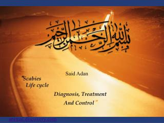 """ Scabies Life cycle Diagnosis, Treatment And Control """