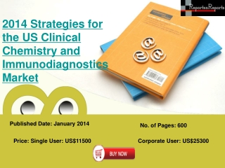 Report on US Clinical Chemistry and Immunodiagnostics Market