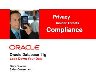 Oracle Database 11g Lock Down Your Data