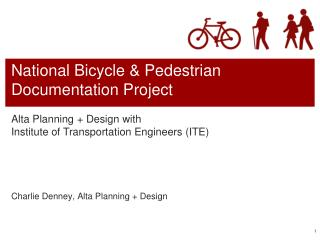 National Bicycle & Pedestrian Documentation Project