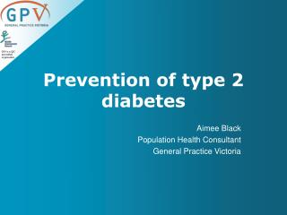 Prevention of type 2 diabetes