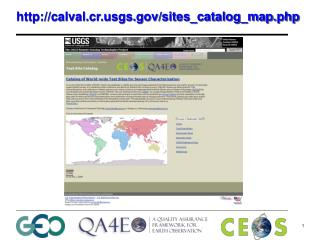 http://calval.cr.usgs.gov/sites_catalog_map.php