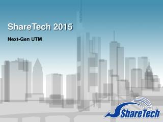 ShareTech 2015