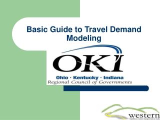 Basic Guide to Travel Demand Modeling