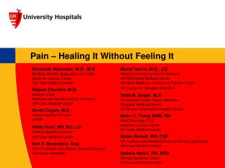 Pain – Healing It Without Feeling It