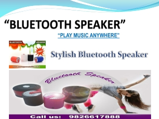 Portable Outdoor Speakers For Mobiles
