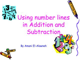 Using number lines in Addition and Subtraction