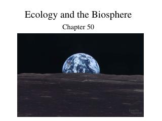 Ecology and the Biosphere