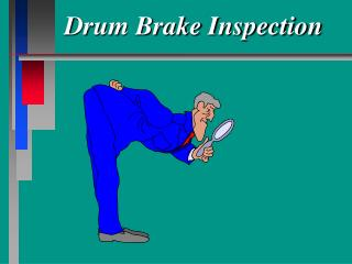 Drum Brake Inspection
