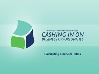 Calculating Financial Ratios