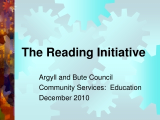 The Reading Initiative